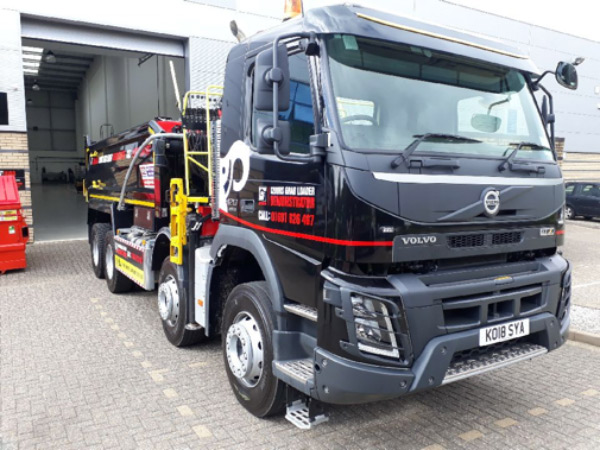 HIAB Grab Loader Demo Vehicle Could Be Yours