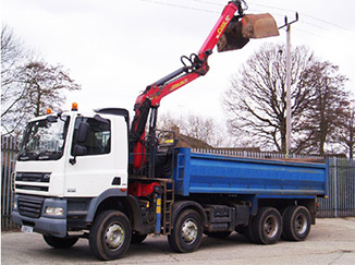18t Tipper Grab