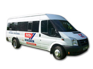 Mini bus – 9 or 17 seater