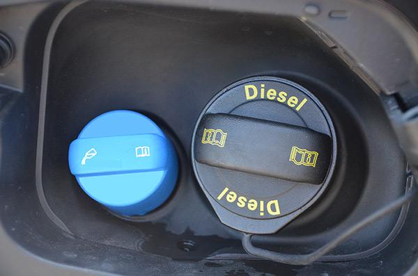 Diesel and AdBlue
